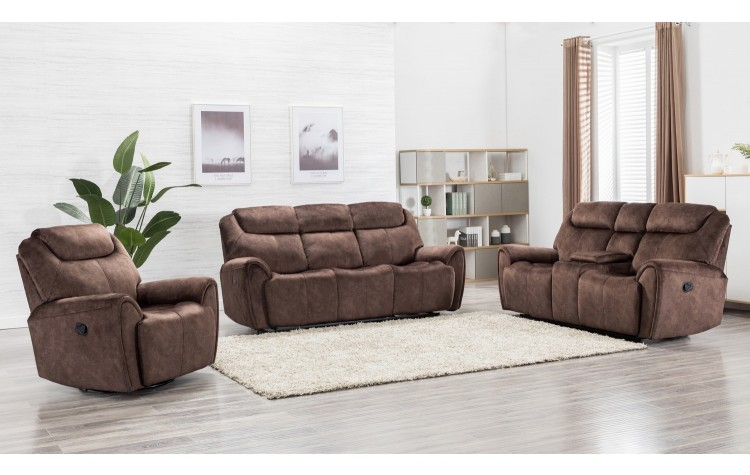 5008 - Brown Sofa Set