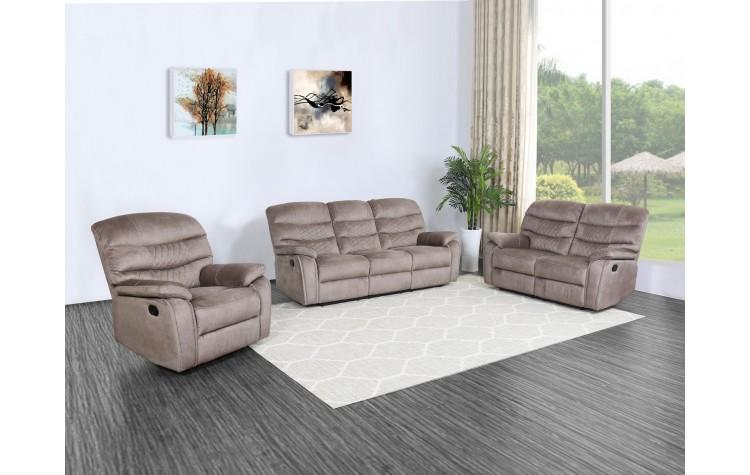 5052 - Light Brown Sofa Set
