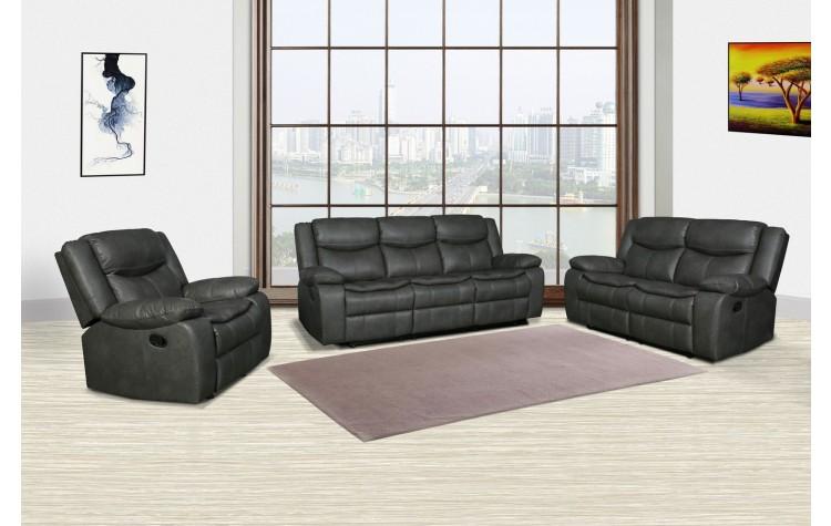 6967 - Gray Sofa Set