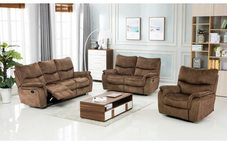 7167 - Light Brown Sofa Set
