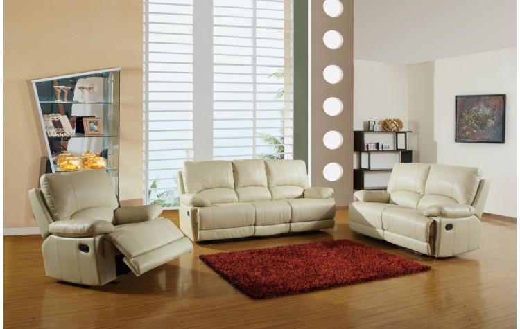 9345 - Beige Sofa Set