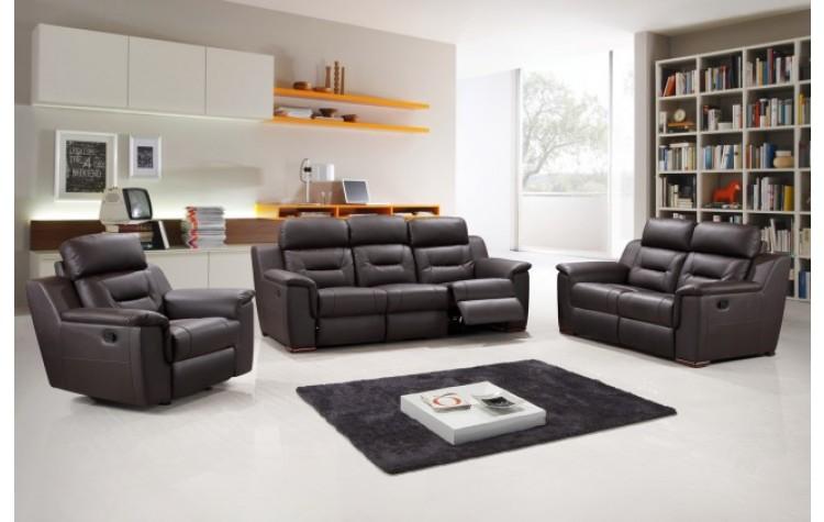 9408 - Brown Sofa Set