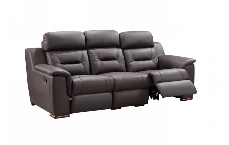 9408 - Brown Sofa