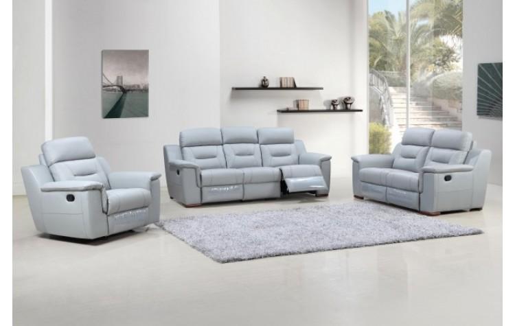 9408 - Gray Sofa Set
