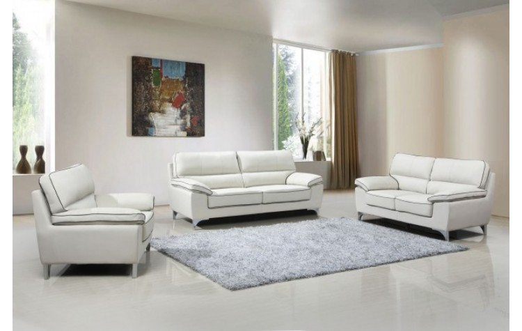 9436 - Light Gray Sofa Set