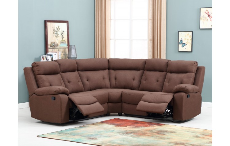9443 - Brown Sectional