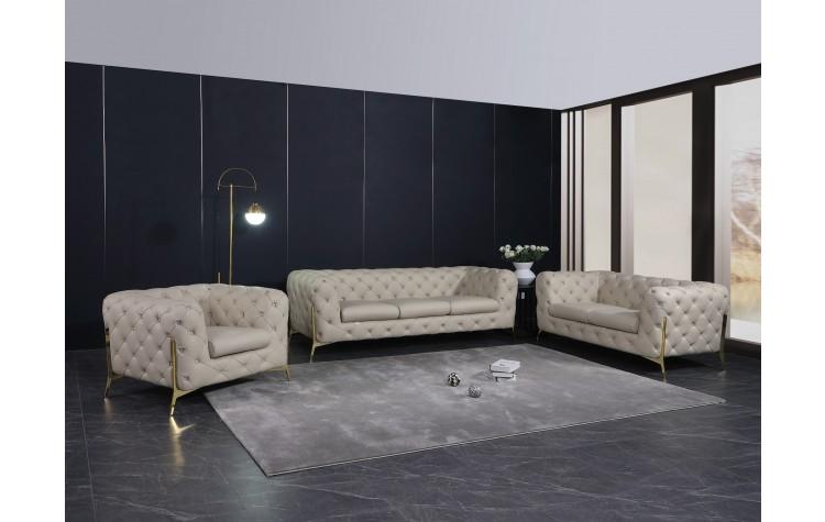 970 - Beige Sofa Set