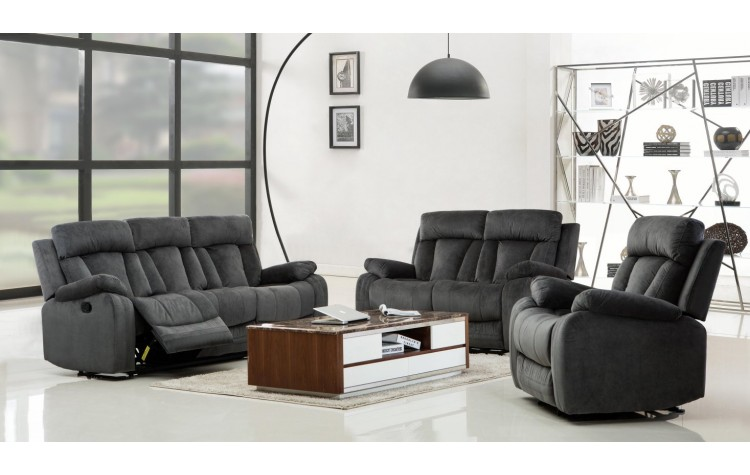 9760 - Gray Sofa Set