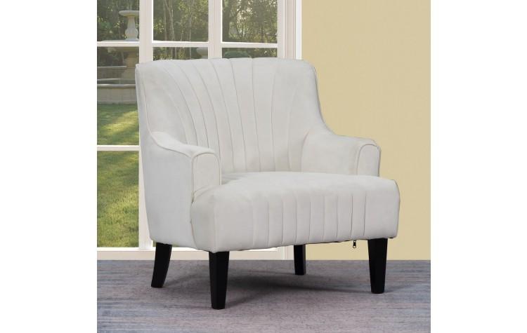 A32 - White Accent Chair