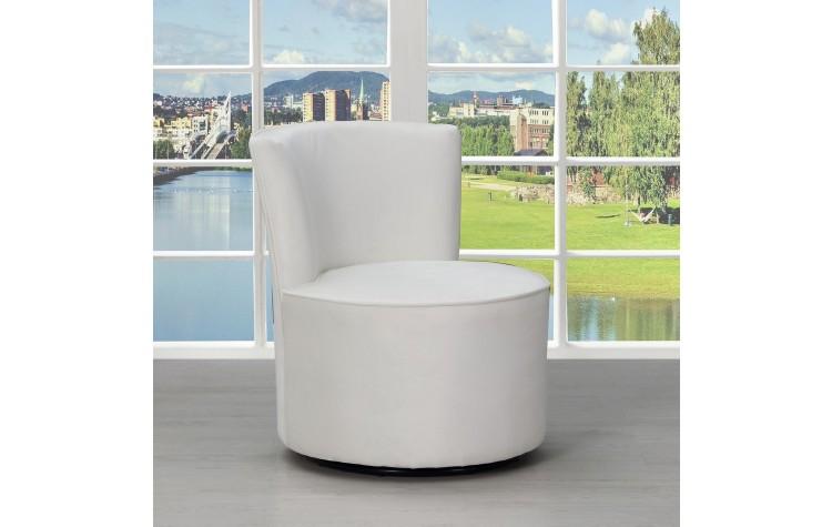 A41 - White Accent Chair