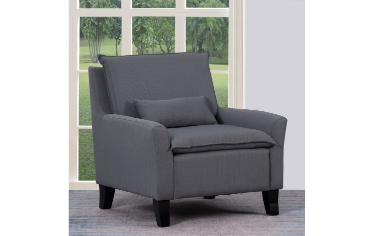 A87 - Gray Accent Chair