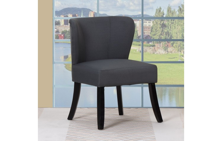 A92 - Dark Gray Accent Chair
