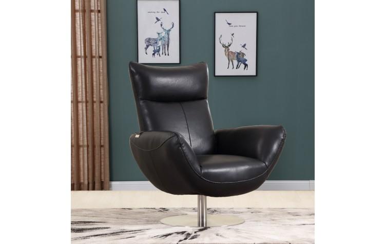 C74 - Black Lounge Chair