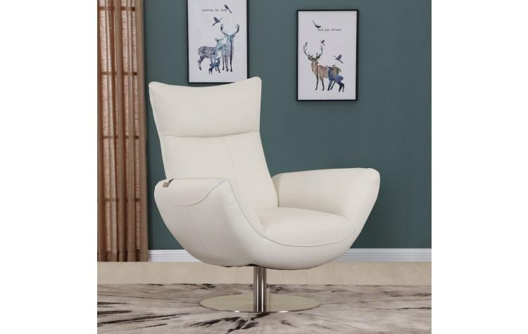 C74 - White Lounge Chair