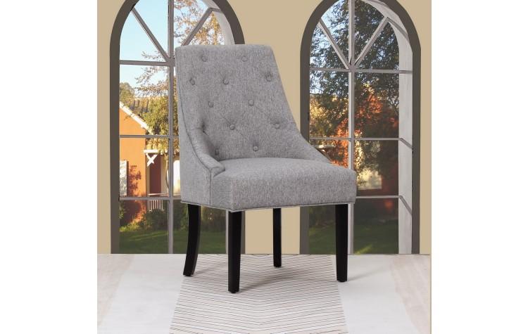 D9 - Light Gray Accent Chair