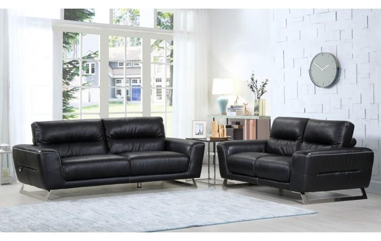 485 - Black Sofa Love