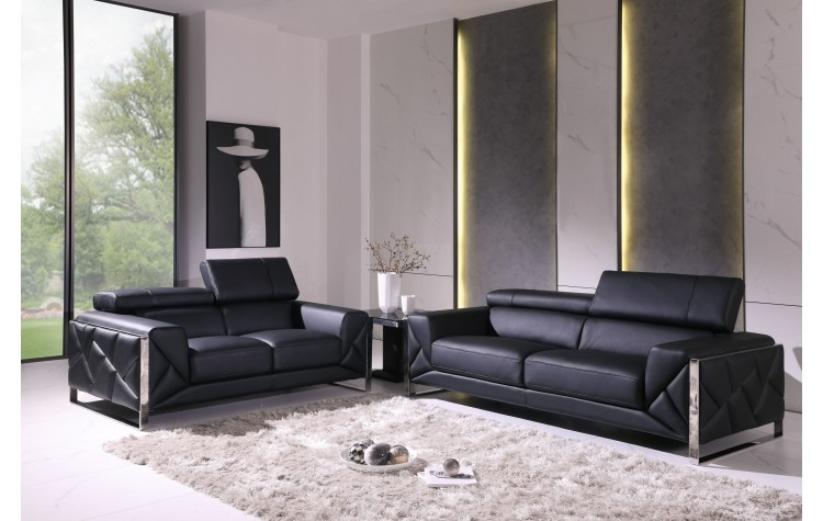 903 - Black Sofa Love