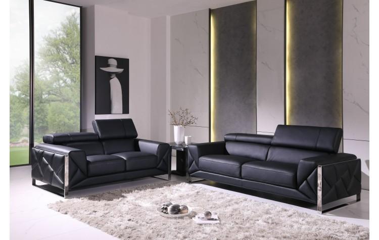 903 - Black Sofa Love