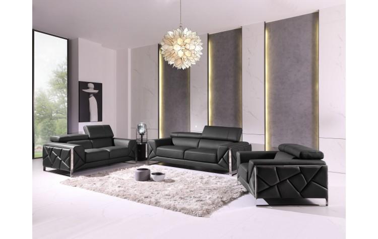 903 - Dark Gray Sofa Set