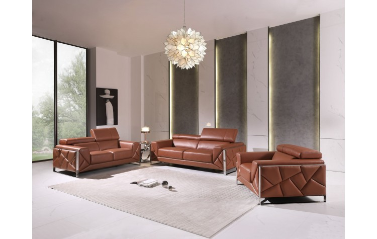 903 - Camel Sofa Set