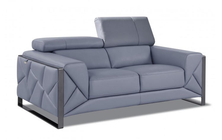 903 - Light Blue Loveseat