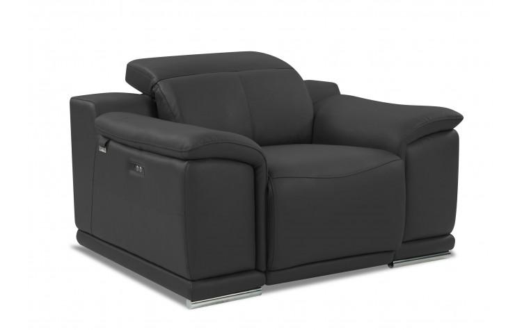9762 - Dark Gray Power Reclining Chair