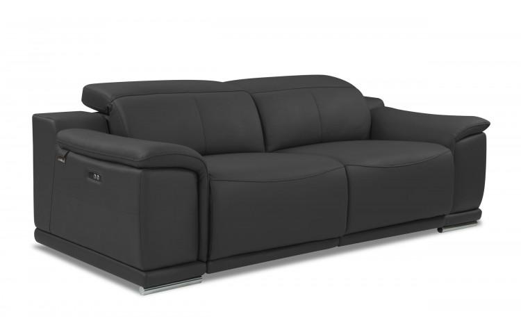 9762 - Dark Gray Power Reclining Sofa
