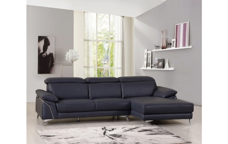 727 - Blue Sectional