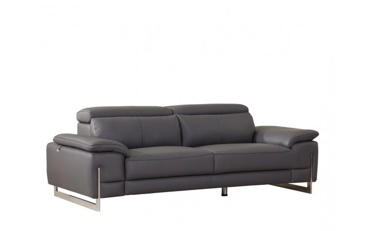 636 - Dark Gray Sofa