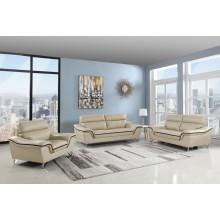168 - Beige Sofa Set