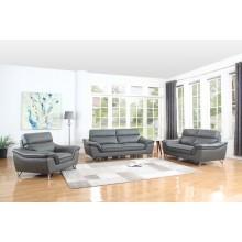 168 - Gray Sofa Set