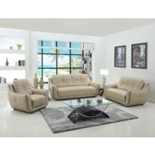 2088 - Beige Sofa Set