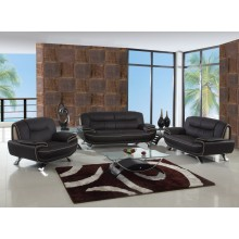 405 - Brown Sofa Set