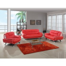405 - Red Sofa Set