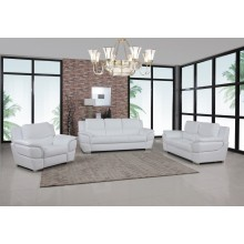 4572 - White Sofa Set
