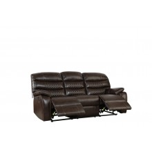 5052 - Dark Brown Sofa