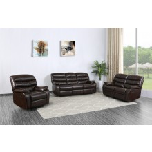 5052 - Dark Brown Sofa Set