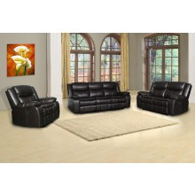 6967 - Brown Sofa Set