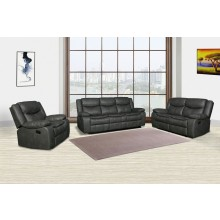 6967 - Gray Sofa Set