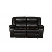 6967 - Brown Loveseat