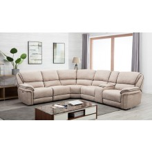 7098 - Beige Power Reclining Sectional