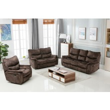 7167 - Dark Brown Sofa Set