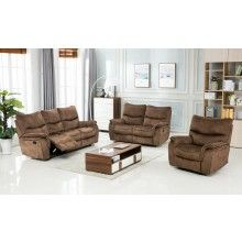 7167 - Light Brown Sofa Set