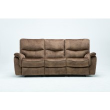 7167 - Light Brown Sofa