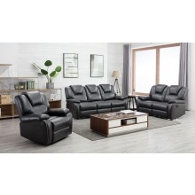 7993 - Gray Power Reclining Sofa Set