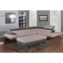 8136 - Two-Tone Sectional RAF