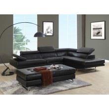8136 - Black Sectional RAF