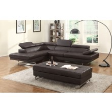 8136 - Brown Sectional LAF