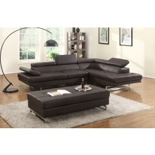 8136 - Brown Sectional RAF