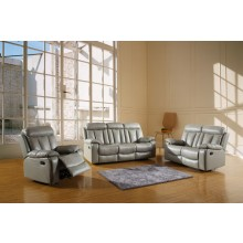 9361 - Gray Sofa Set